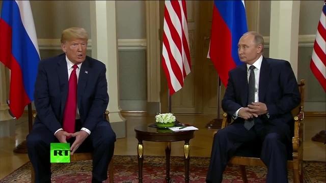 Трамп оценил работу Путина!!