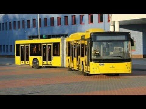 Автобус Минска МАЗ-215, гос.№ АС 3549-7, марш.17 (01.02.2019)