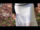 Белая ажурная юбочка в пол - photosession by Irina Akman