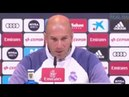 Anímicamente, ¿cómo está Zidane?: Yo estoy de puta madre