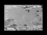 Военные Пуэрто-Рико засняли неопознанный летающий объект, который ушёл в глубины моря