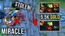 Miracle- Best AM Player?! 5.5k Gold Stolen Items WTF 322 Moment vs LVL 25 Tinker Spammer - Dota 2