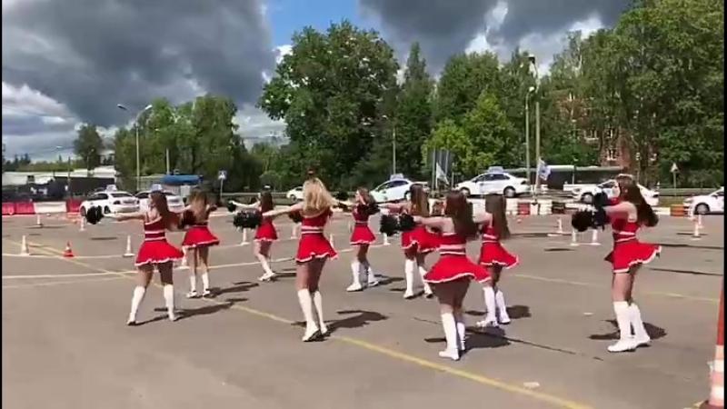 Lady Чир Дэнс Авто Шоу - Dance Club NIKA - АВТОЛЕДИ 2018