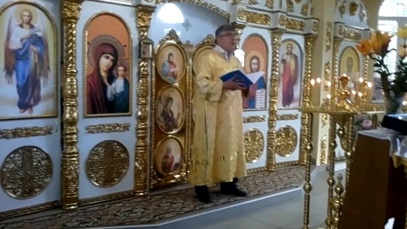 Рождество Иоанна Крестителя 2018