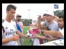 Cristiano Ronaldo desata la locura en UCLA