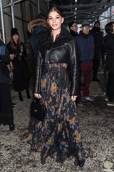 Неделя моды в Нью-Йорке: звезды на показе Coach осень-зима 2019/2020