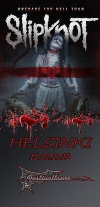 Slipknot 15 февраля Хельсинки