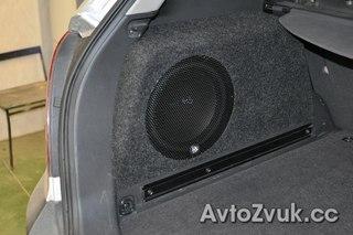 Изготовление и установка сабвуфера стелс в Opel Antara.  Задача была создать мягкий бас, не сокращая место в...