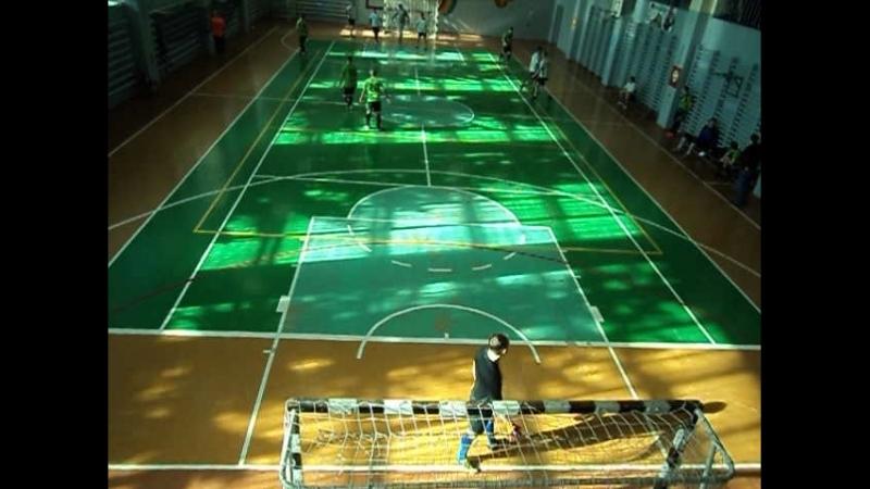 Чемпионат города Коврова по мини футболу Район - Импульс 2 тайм 18.03.18