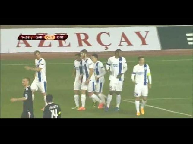 Goal Kalinić - Qarabag 0-1 Dnipro - 06-11-2014