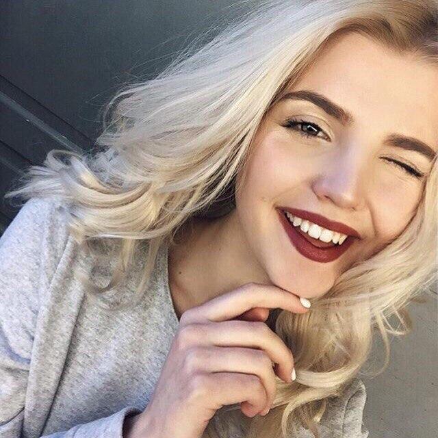 Блондиночка хочет быть хорошей женой