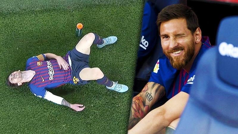 Как Месси забивает голы, если он травмирован