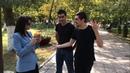 Красивая Лезгинка С Красивой Певицей Дагестана В Парке 2018 ALISHKA ELVIN XAVA QAZAXOVA Махачкала