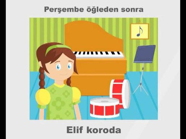 Haftanın Günleri - Days of week * Learn Turkish