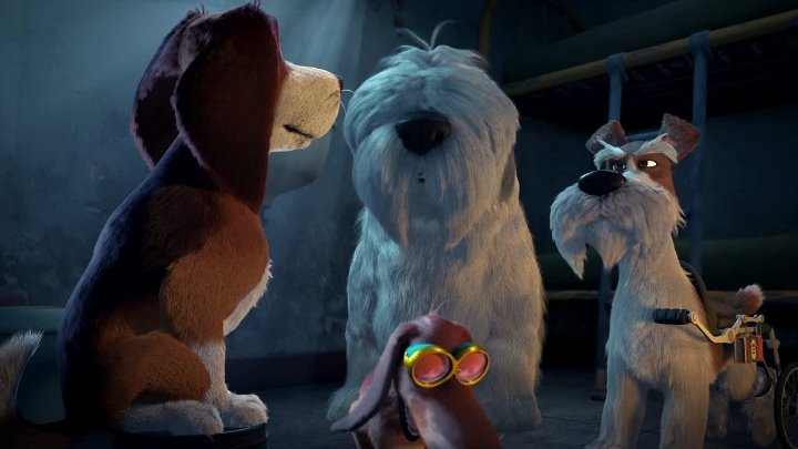 Большой собачий побег. 2016. Комедия мультфильмы приключения