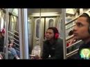 Магия в метро. Видео приколы