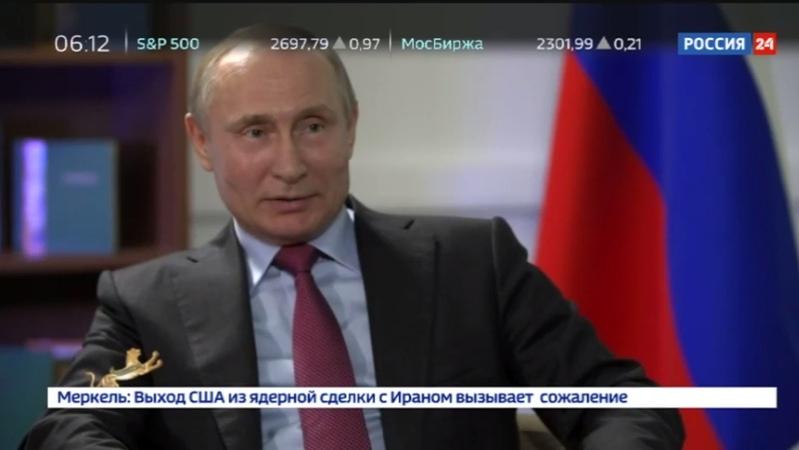Новости на Россия 24 • Путин назвал Назарбаева человеком, устремленным в будущее