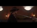 поцелуй антонио бандерас и кэтрин зета-джонс в фильме - маска зорро / the mask of zorro (1998)