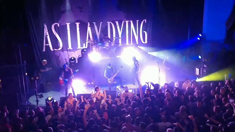 As I Lay Dying live set Oriental Theater 11-8-18