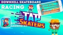 Tap Skaters - Downhill Skateboard Racing (Gameplay IOS/Android)