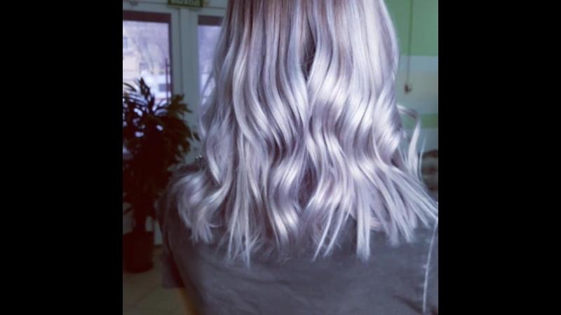 Ледяной блонд 💎💎💎 Спасибо Танюша что подарила простор моему творчеству и воображению и позволила поколдовать на твоей крас