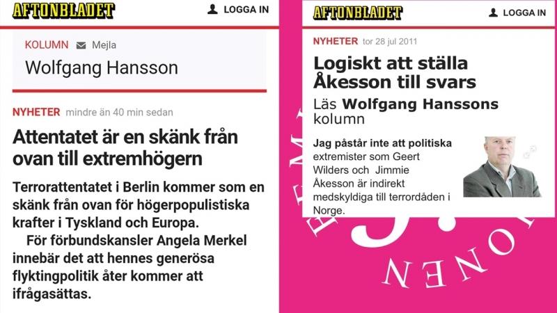 AB Logik Breivik- en skänk från ovan till socialister
