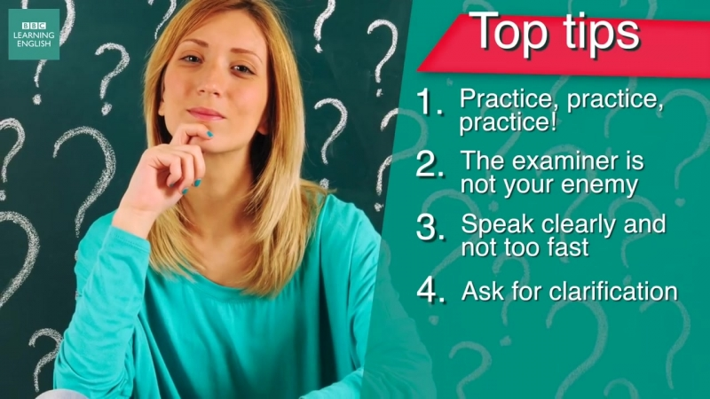 Exam Skills- 5 tips to help you with speaking exams