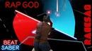 Eminem Rap God I'm beginning to feel like a Sith Lord Custom Song Beat Saber Darth Maul