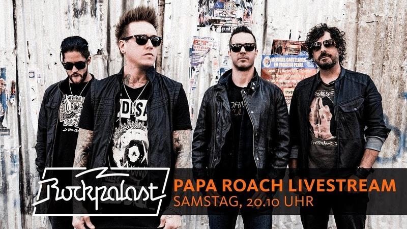 Papa Roach LIVESTREAM | Rockpalast | 2018 | Summer Breeze