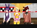 [v-s.mobi][MMD x FNAF ] foxy and bonnie... O.O.mp4