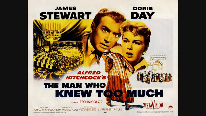 The Man Who Knew Too Much (1956) James Stewart, Doris Day, Brenda de Banzie