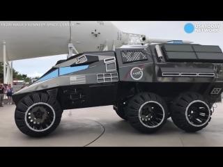 First look at NASAs futuristic Mars rover vehicle