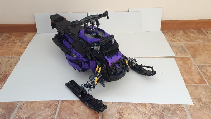LEGO TECHNIC Снегоход LEGO MOC