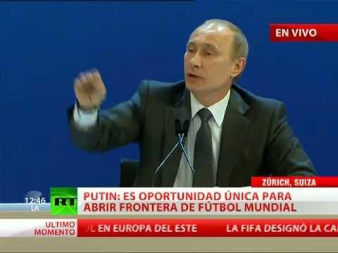 Putin El Mundial ayudará a derribar los muros de Berlín invisibles