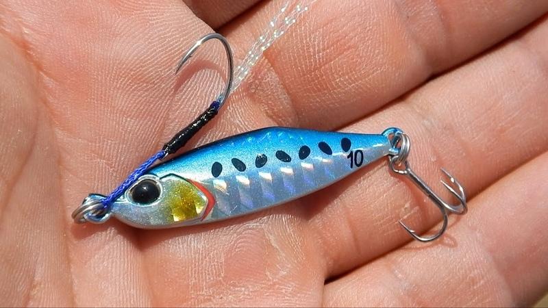 Ψάρεμα με το νέο Tetra Jig της DUO