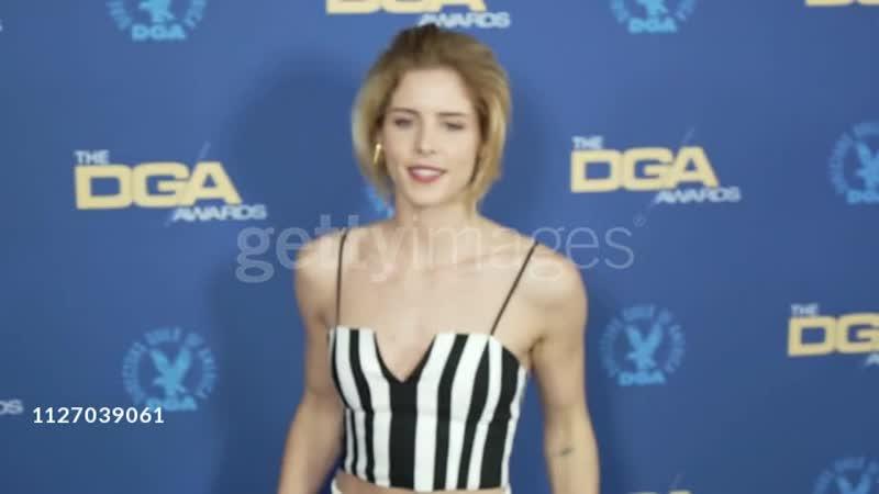Emily Bett Rickards at the 71st Annual DGA Awards