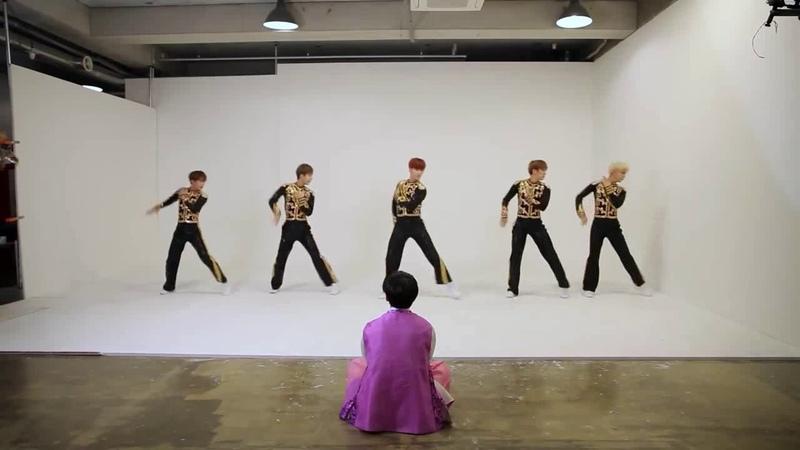 SNUPER스누퍼 아육대 에어로빅 feat 10 mirrored Dance Practice
