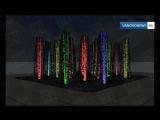 Площадь Ленина в Иванове с фонтантом Проект