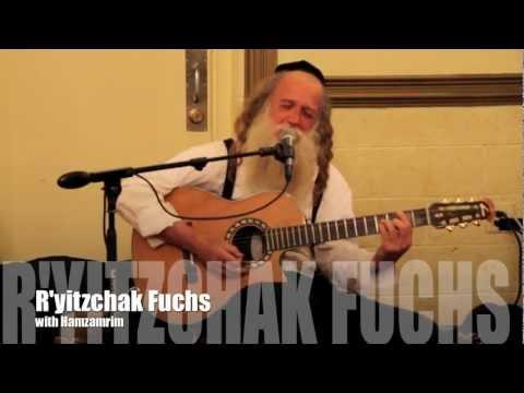 R'Yitzchak Fuchs singing his Lashem haeretz @ the yossi rosenfeld bar mitzvah with hamzamrim