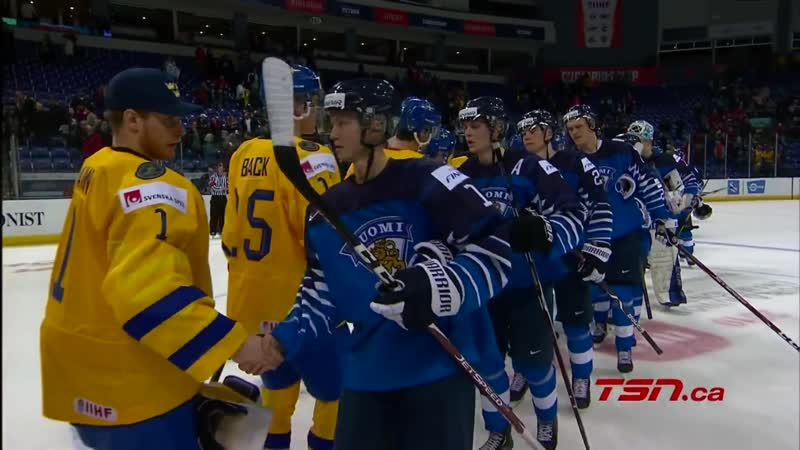 Finland vs Sweden Highlights 2019 IIHF WJC