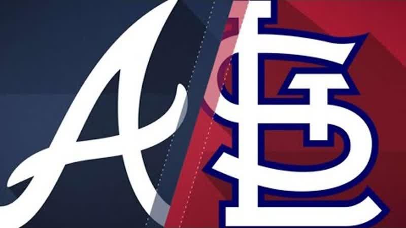 NL / 01.07.18 / ATL Braves @ STL Cardinals (3/3)