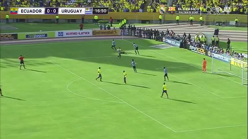 Ecuador vs Uruguay PRIMER TIEMPO Eliminatorias a Rusia 2018 [VDownloader]