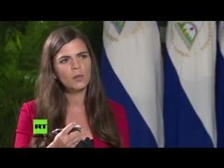 Washington habe millionen us-dollar gepumpt, um ngos und medien in nicaragua zu finanzieren und somit die regierung zu untergrab