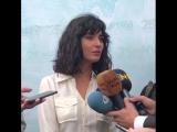 Туба на пресс - конференции 25-го Национального кинофестиваля Адана13.09.2018г.