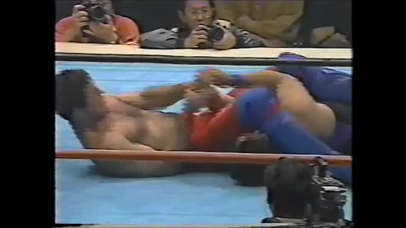 1992 04 03 Koichiro Kimura vs Ted Tenguiz