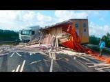 Аварии Грузовиков 2014  Подборка ДТП  дальнобойщики, фуры, ужасные аварии, беспредел,на дорогаз,