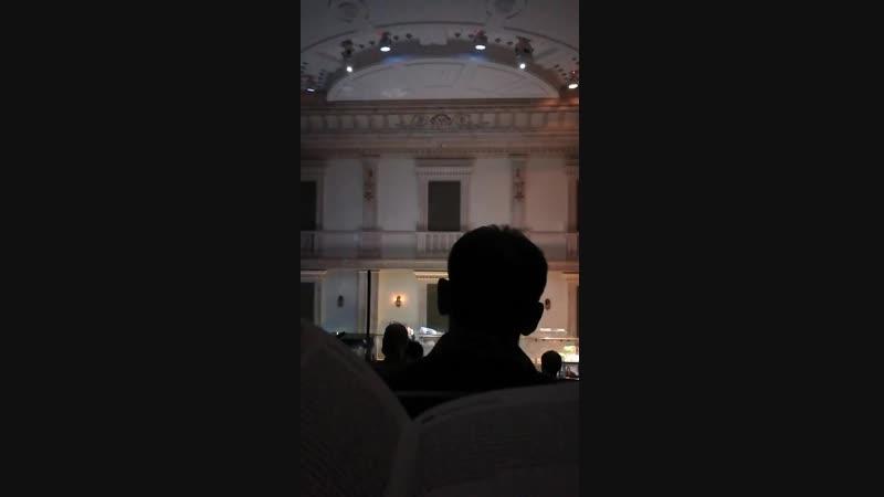 Большой театр, Бетховенский зал. Концерт  с театральными зарисовками с участием учеников театральной студии Брусникина 2018