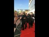 Мартин и Ноэль на красной дорожке BAFTA 2018 (130518)