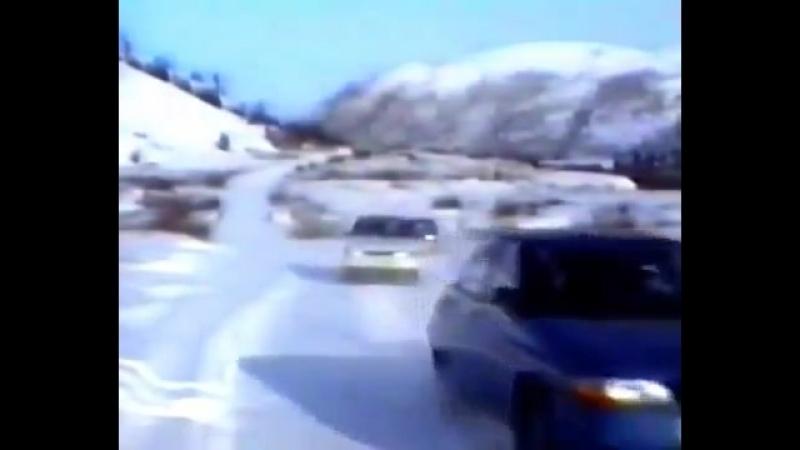 ВАЗ испытания 2110,2111 (1991г.)