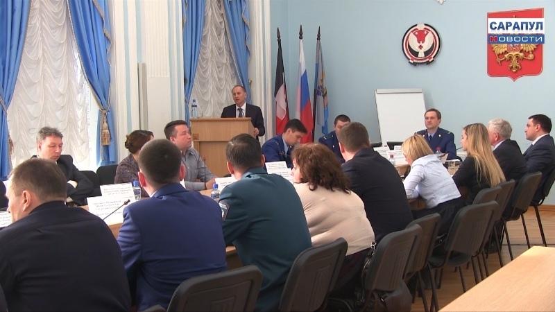 В Сарапуле состоялось выездное заседание общественного совета по защите прав малого и среднего бизнеса